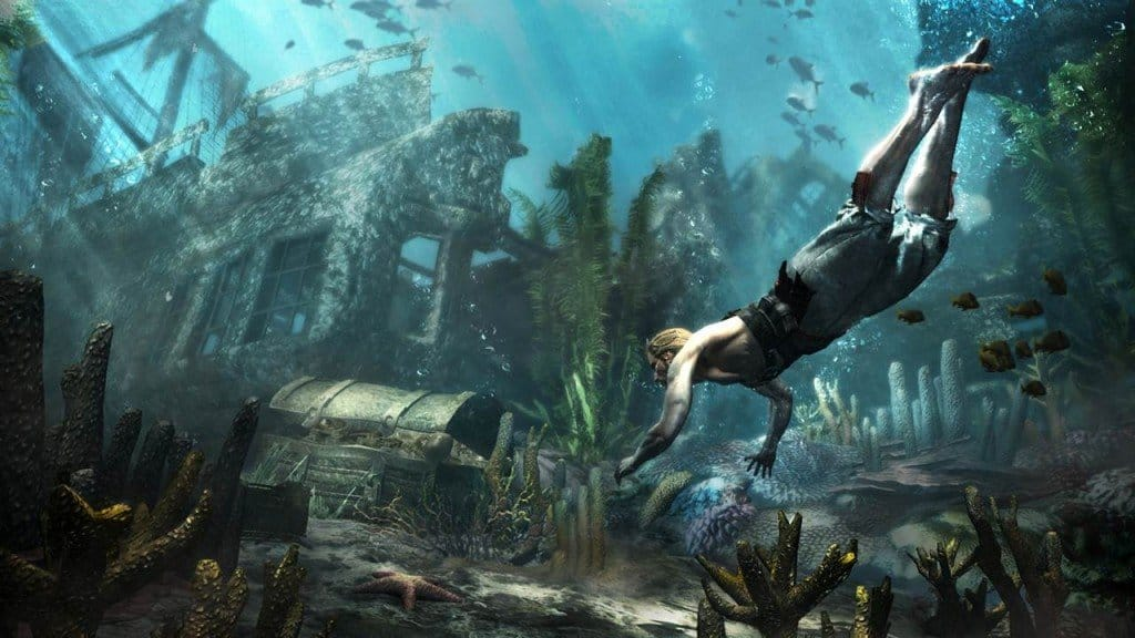 Assassin's Creed 4 Black Flag Underwater Shipwrecks Locations Guide