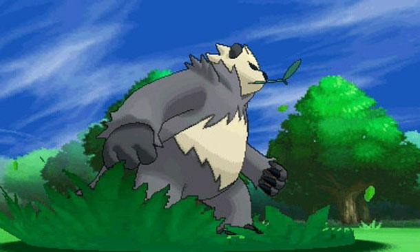 Pokemon X and Y Pangoro