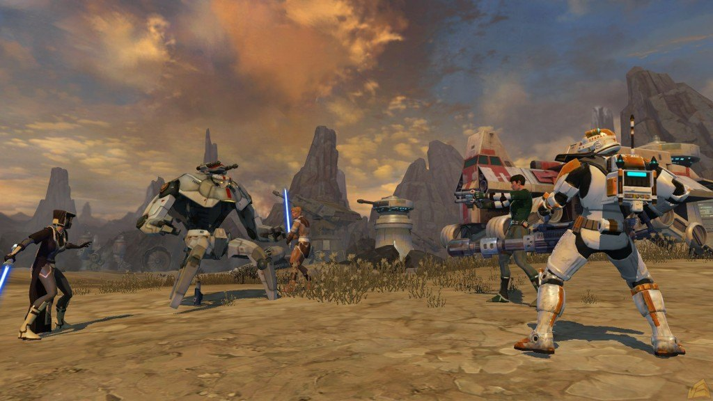 Star Wars: The Old Republic Finally Adding PvP Combat