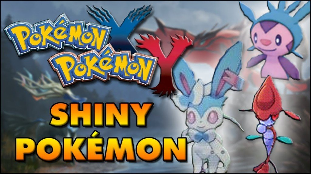 Pokemon X and Y Shiny Pokemon Farming Guide - How To Get