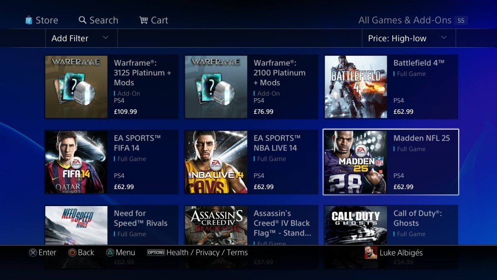 EA Reduces Price of Digital PS4 Titles to Match the Retail Price in UK