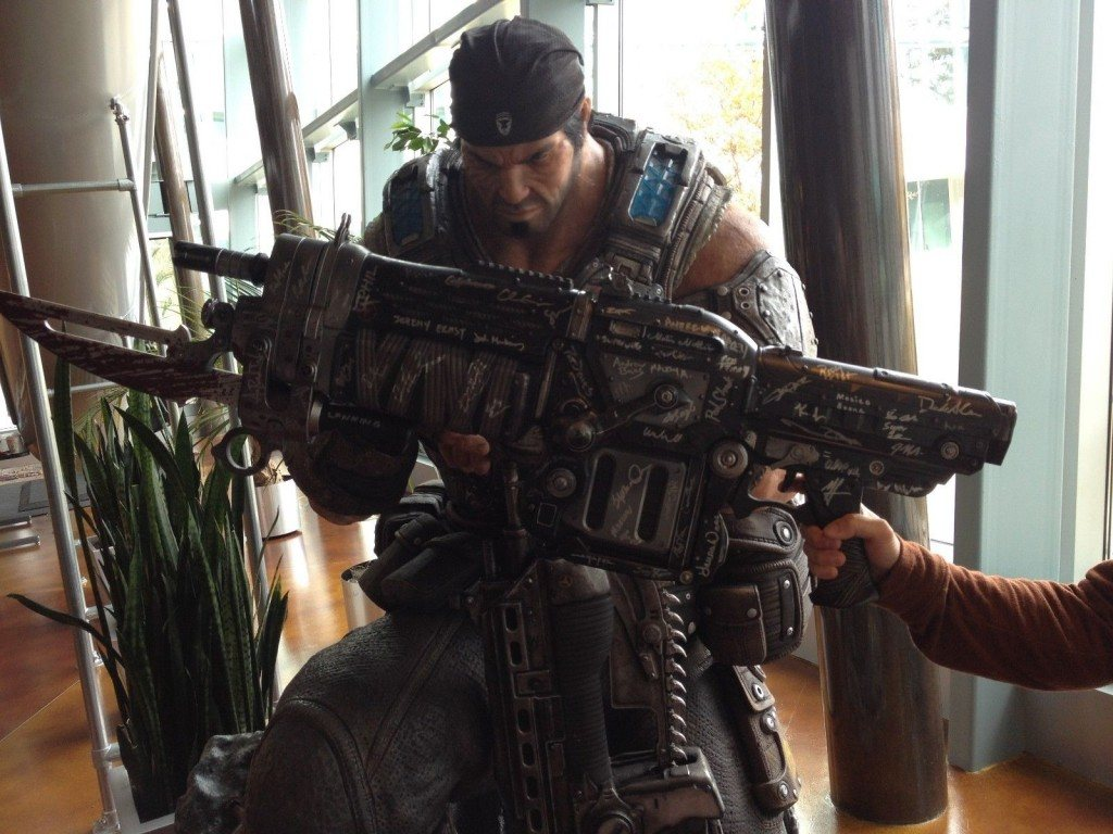 Epic Games Auctioning off Gears of War Replica Lancers