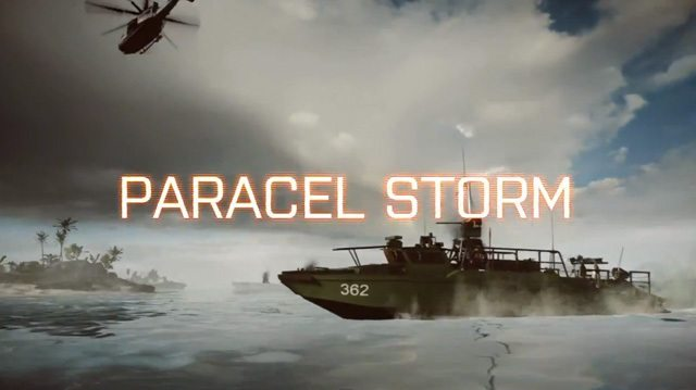 Battlefield 4 Paracel Storm Map