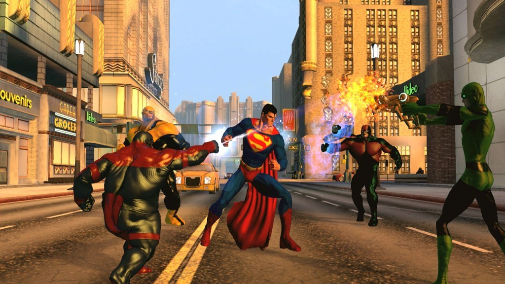 DC Universe Online: PS3 Players will be able to Join PS4 Players
