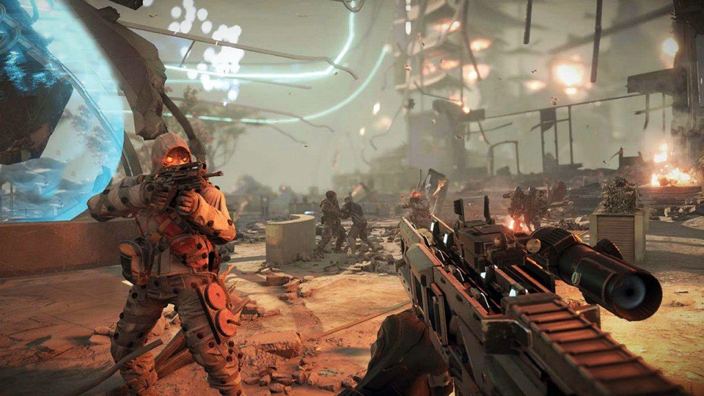 Killzone Shadow Fall Violence is the Answer Trophy Guide