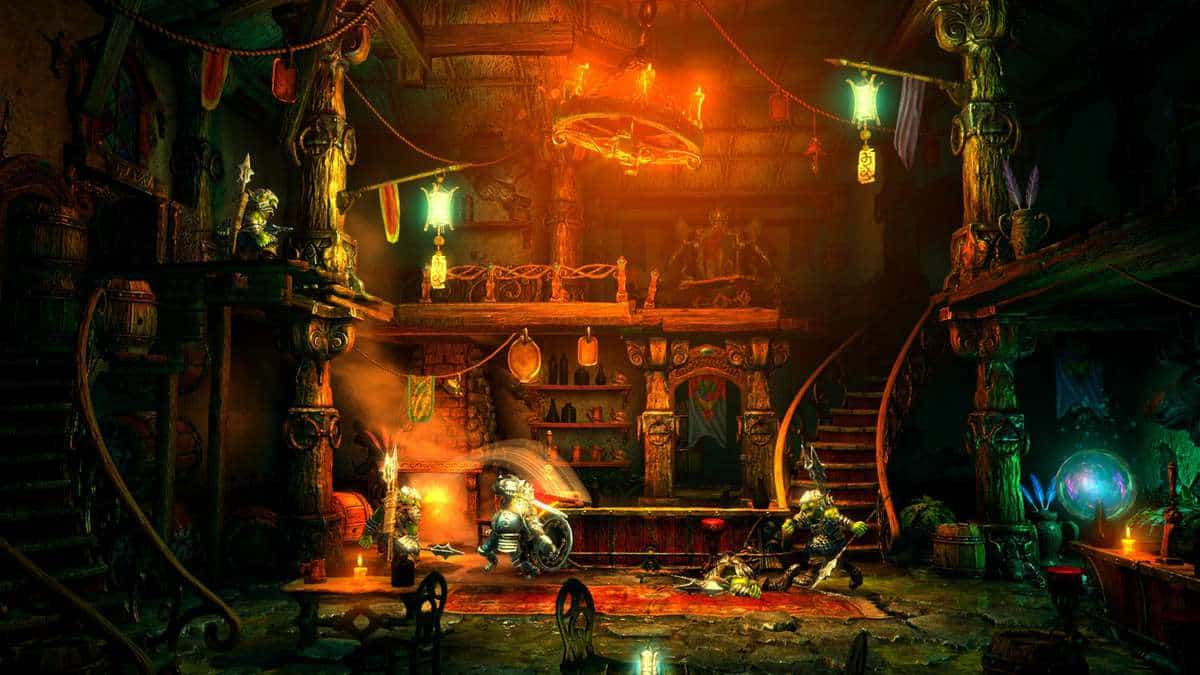 Trine 2: Complete Story Launches for PS4 with Online and Local Co-op