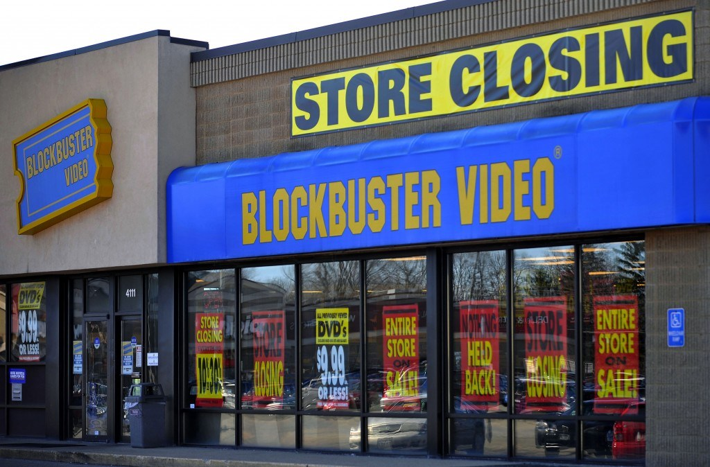 72 Blockbuster Stores Being Shut Down in UK