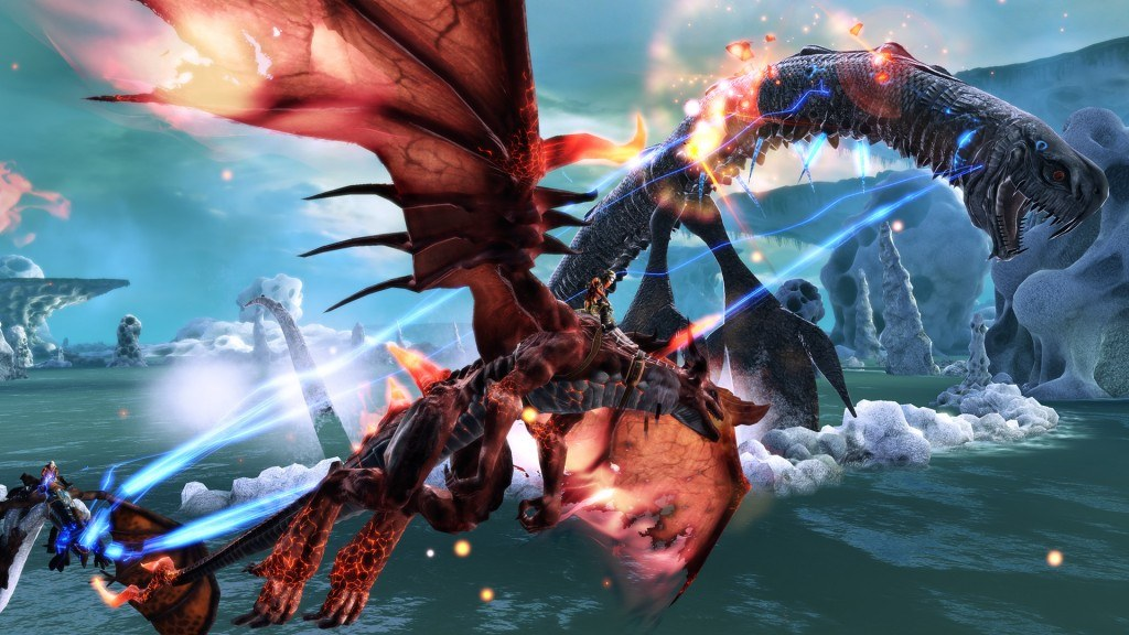 Crimson Dragon Adds Multiplayer into the Mix with New Update