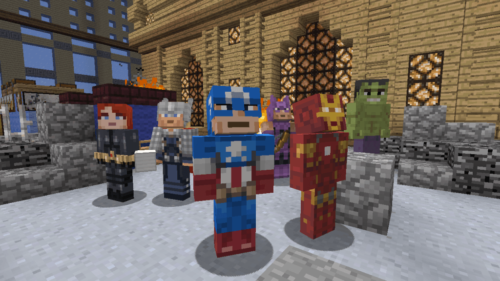 MarvelHeroesMinecraft