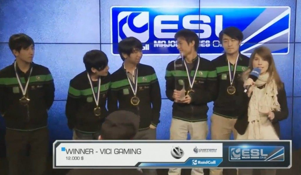 Dota 2 EMS One Fall is won by Vici Gaming