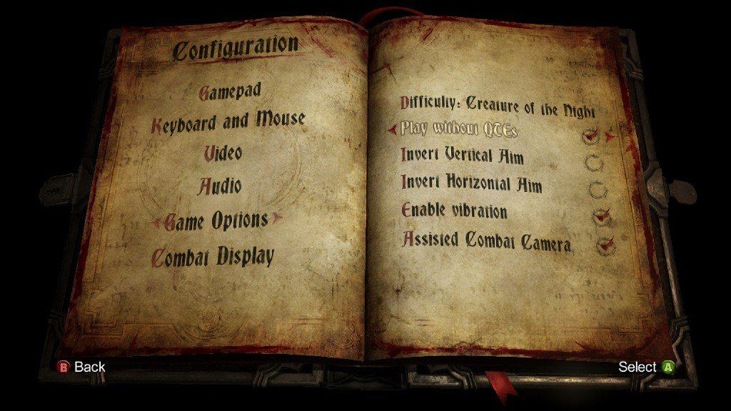 Castlevania: Lords of Shadow 2 Has Option To Remove QTEs