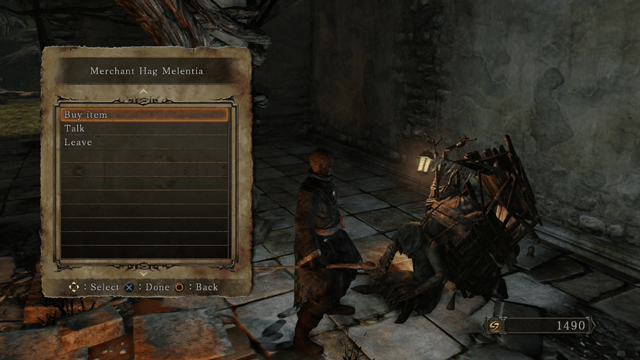 Dark Souls 2 Merchants