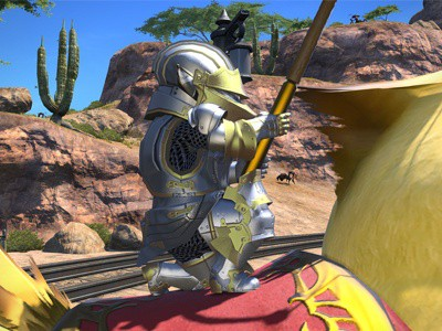 Upgrade Final Fantasy XIV: A Realm Reborn From PS3 to PS4