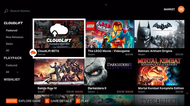 Cloud Gaming Company OnLive Returns With CloudLift