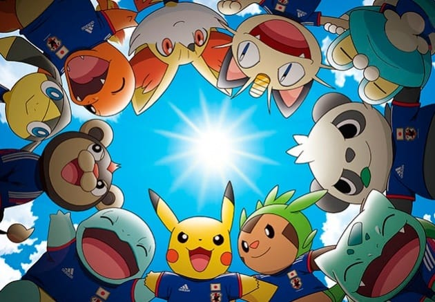 Nintendo & Adidas Joining Hands to Present Pokemon in Football Kits for 2014 FIFA World Cup
