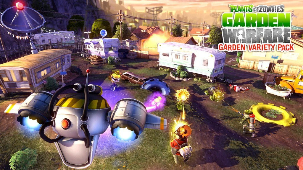 Plants vs Zombies: Garden Warfare - Garden Variety Pack Features New Map, Mode and More