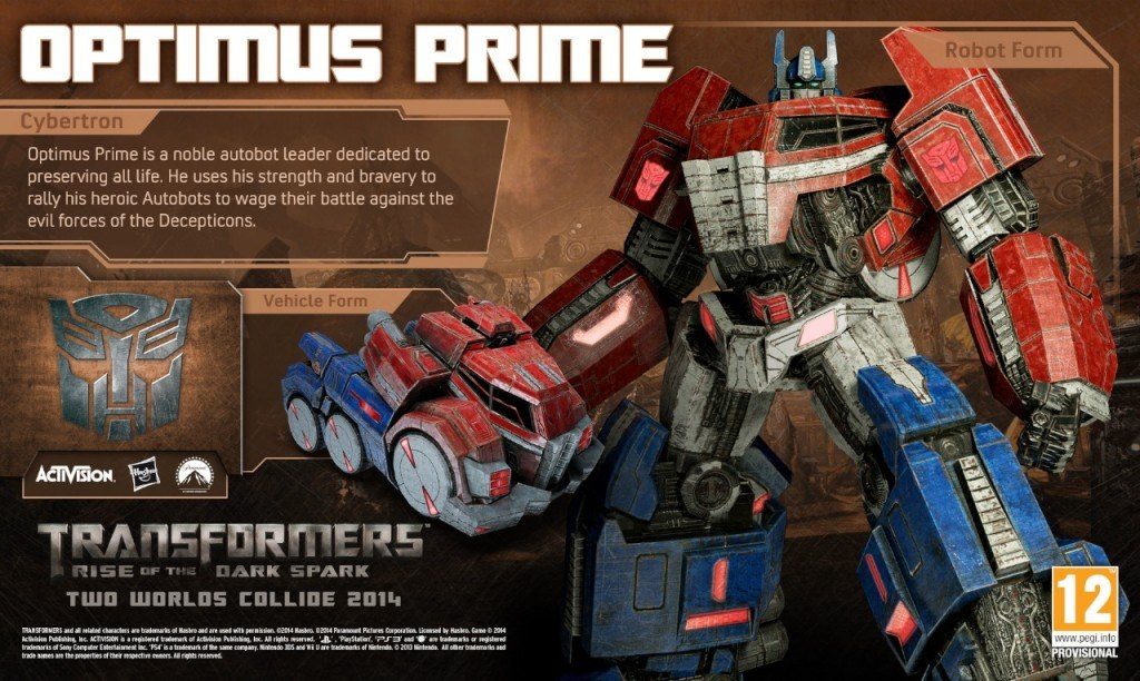 Transformers: Rise of the Dark Spark Features Three Different Optimus Primes