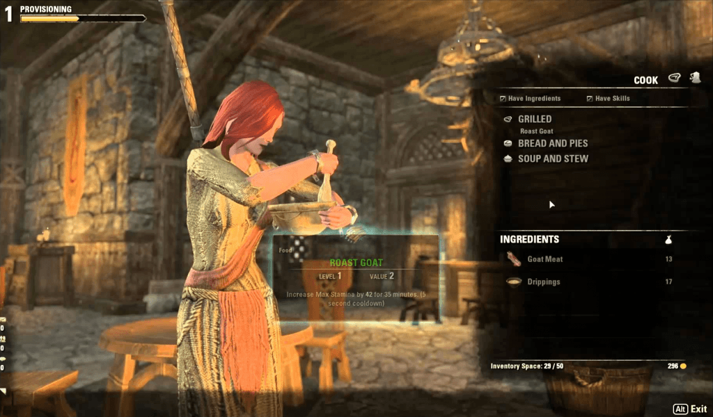 The elder scrolls online provisioning guide how to cook food and elder scrolls online provisioning forumfinder Images