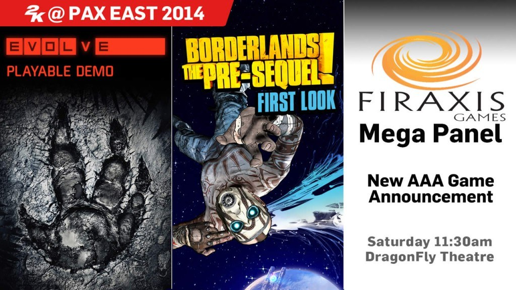 PAX East 2014 to Bring a New AAA Title by 2K Games and Firaxis Tomorrow