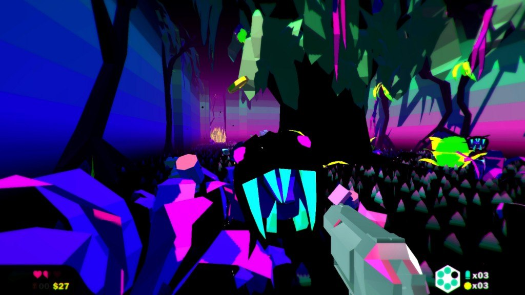 Acid Trip Shooter Heavy Bullets Now On Early Access