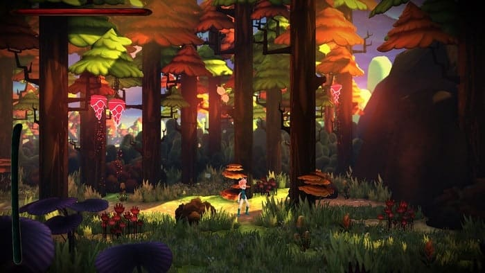 Unreal Engine 4 Platform Game Red Goddess On Kickstarter
