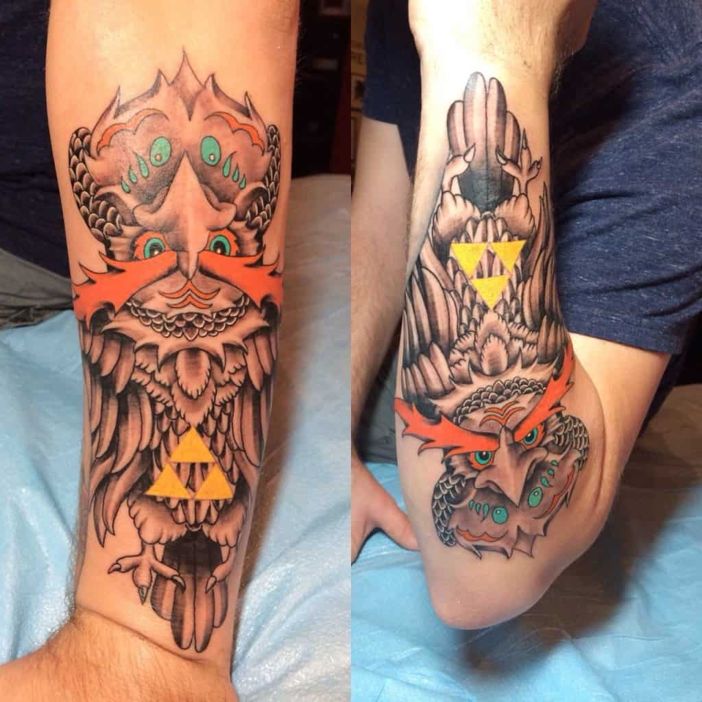 Robert Bowling zelda tattoo