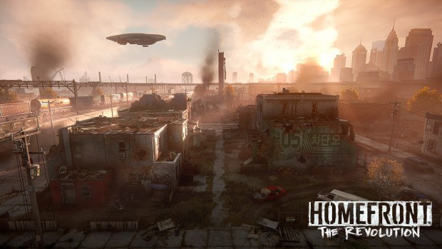 Homefront: The Revolution PS4 Pro update