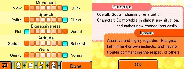 Tomodachi Life Personality Guide - How To Create a Perfect