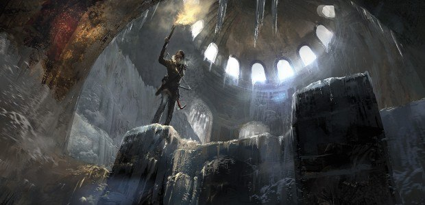 Rise of the Tomb Raider on PS4