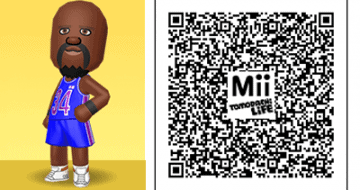 Tomodachi Life Mii Qr Codes For Celebrities Video Game