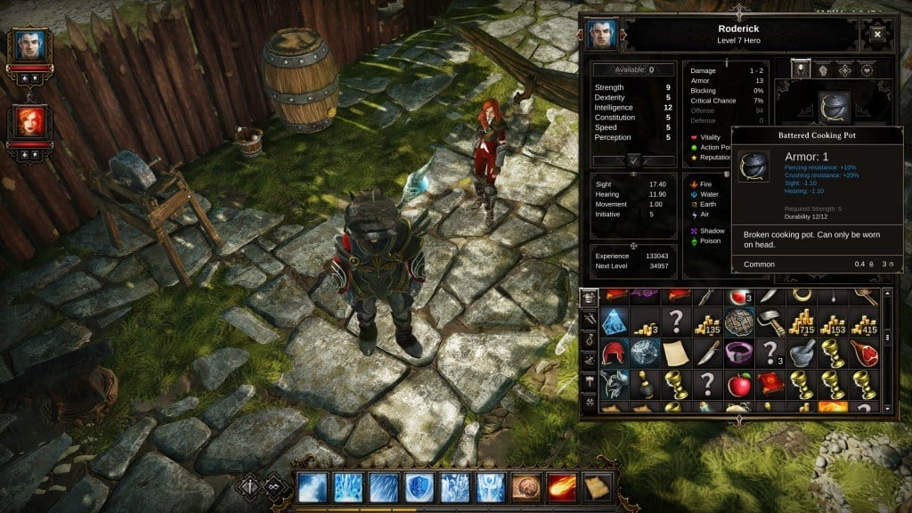 Divinity Original Sin  Crafting List