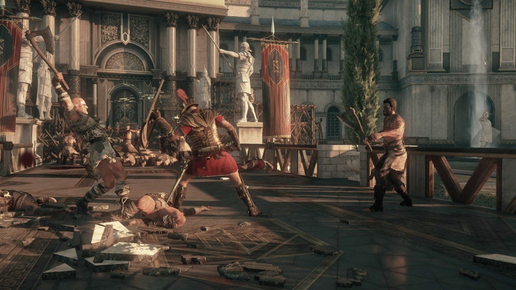 Ryse: Son of Rome Out On Steam, Save Issues Ensue