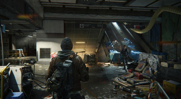 The Division login glitches