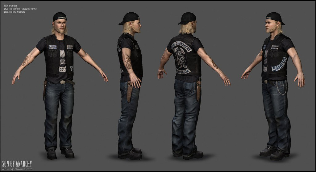 Sons of Anarchy Game is Not For Consoles, Will be Available for Tablets