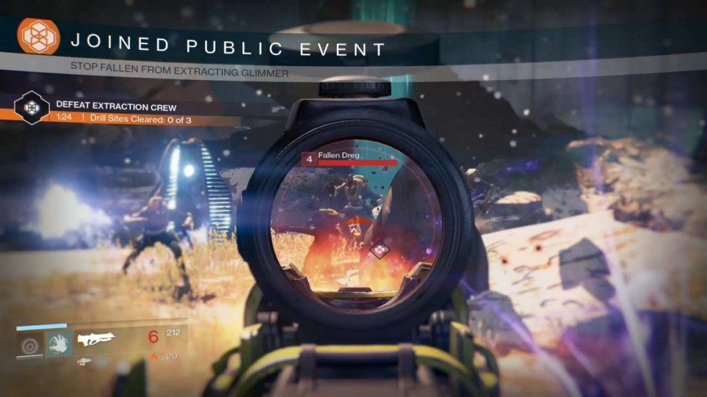 Destiny Patrol Missions Public Events Guide