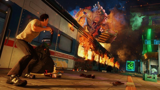 Sunset Overdrive Games For Gold