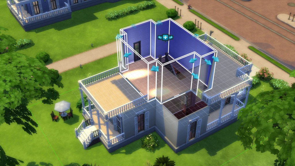 The sims 4 build mode guide basics of building your for Dream house builder