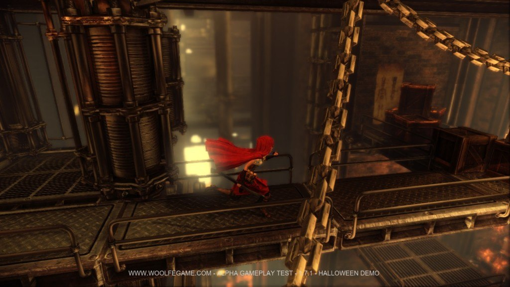 Go Play The Woolfe: The Red Hood Diaries Demo Now