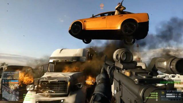 Battlefield: Hardline - Flying Car