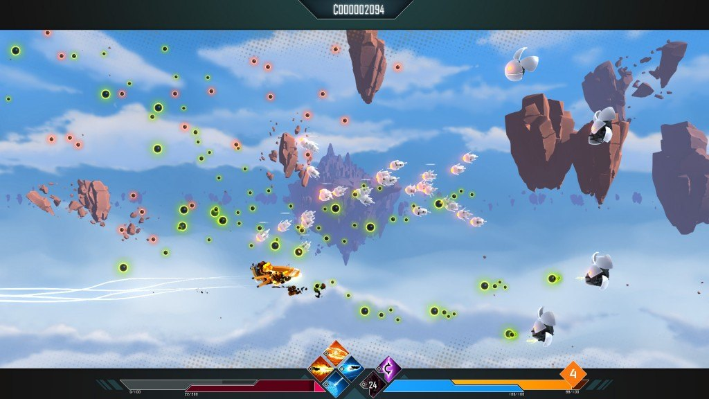 Drifting Lands Free Steam Demo Mixes Shoot 'Em Up With Hack And Slash