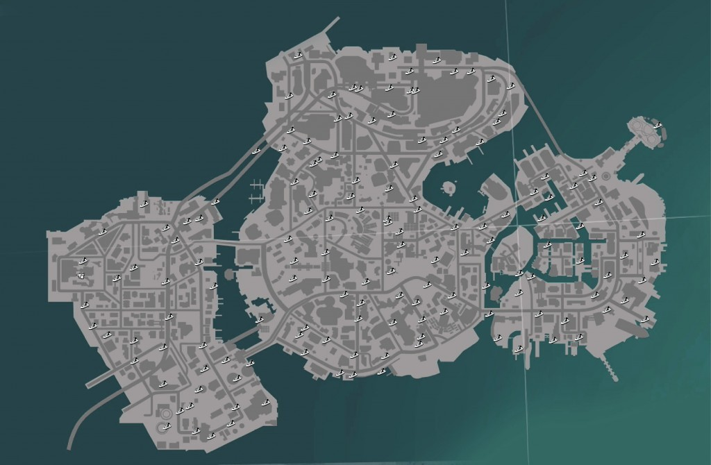 Sunset Overdrive Shoes Locations Map