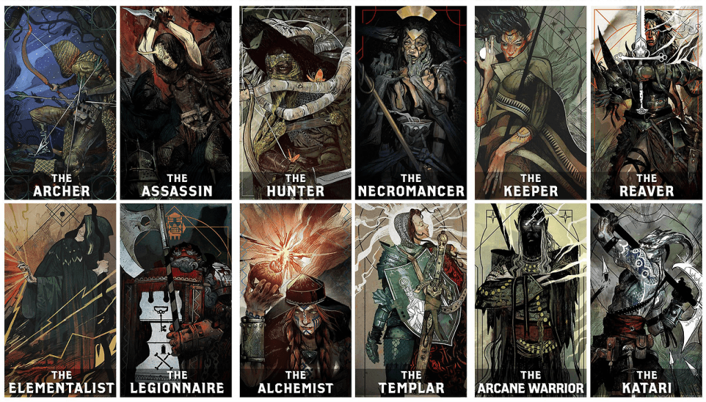 Dragon Age Inquisition Multiplayer Characters