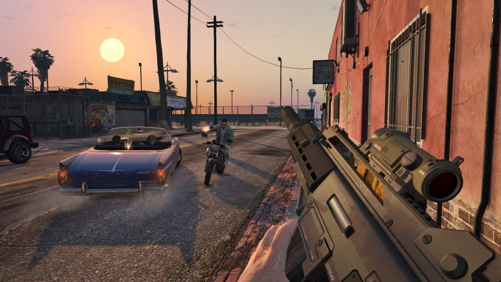 This is How GTA Online Will Look on Xbox One, PS4 and PC