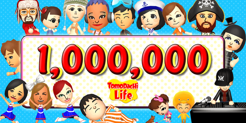 Tomodachi Life Sells 1 Million Copies In Europe