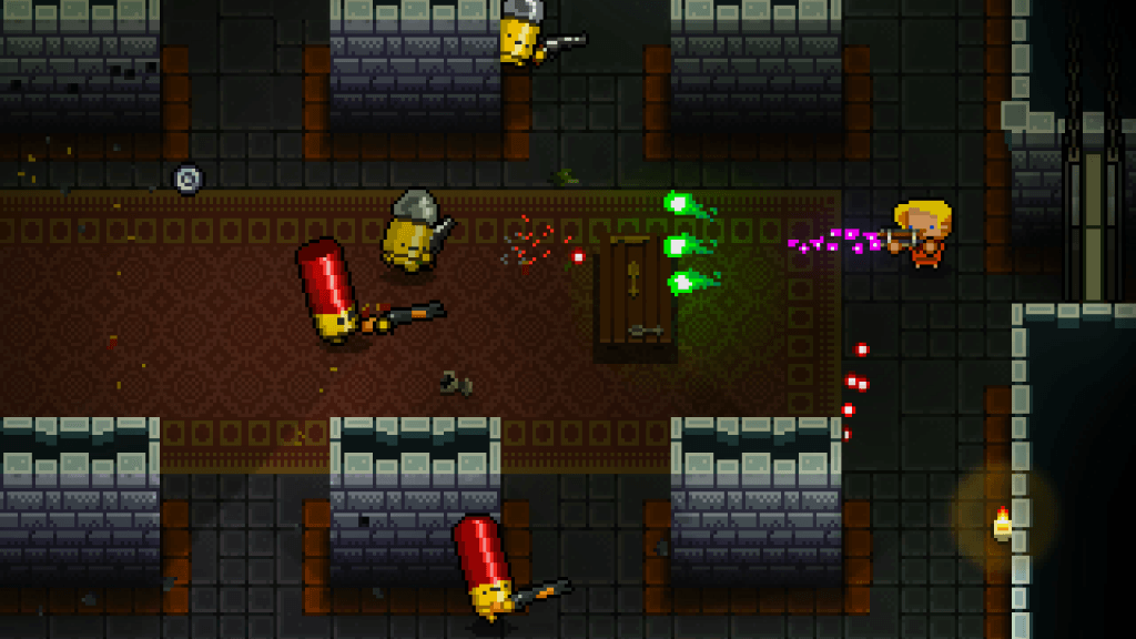Enter the Gungeon Has Bullets That Fire Other Bullets