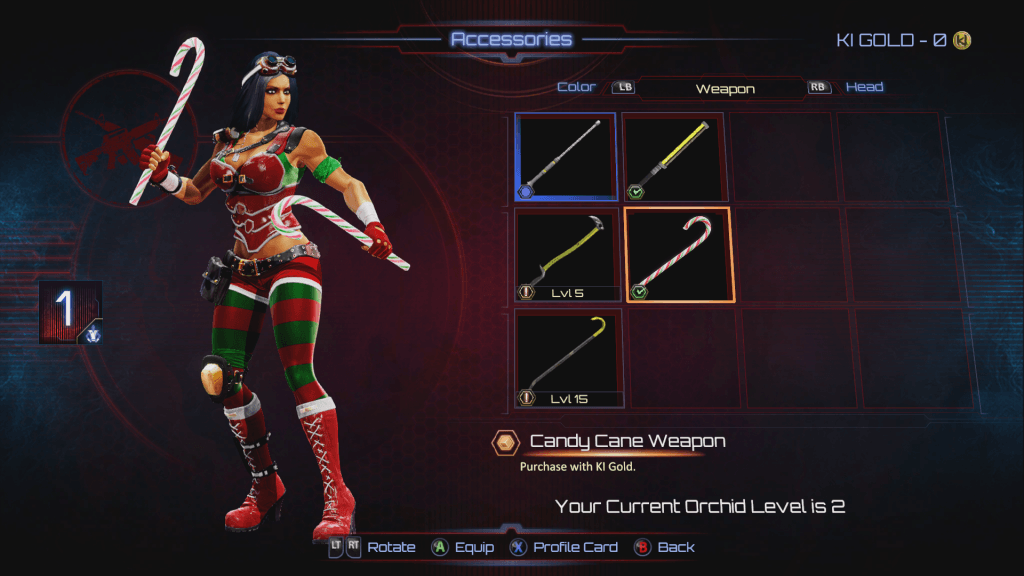 Killer Instinct - Holiday Orchid