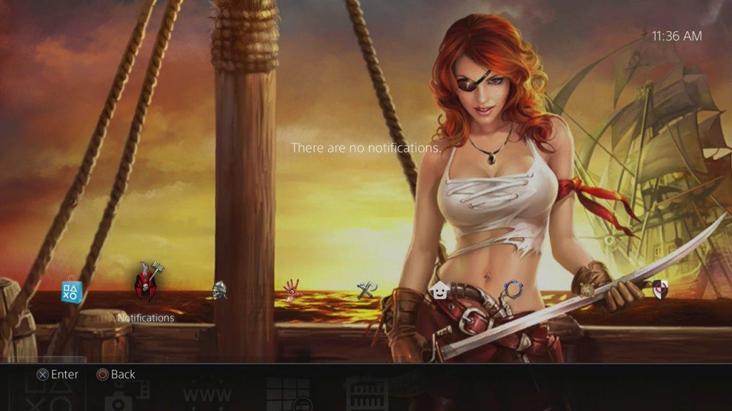 PS4 Gets 31 New Third Party Themes