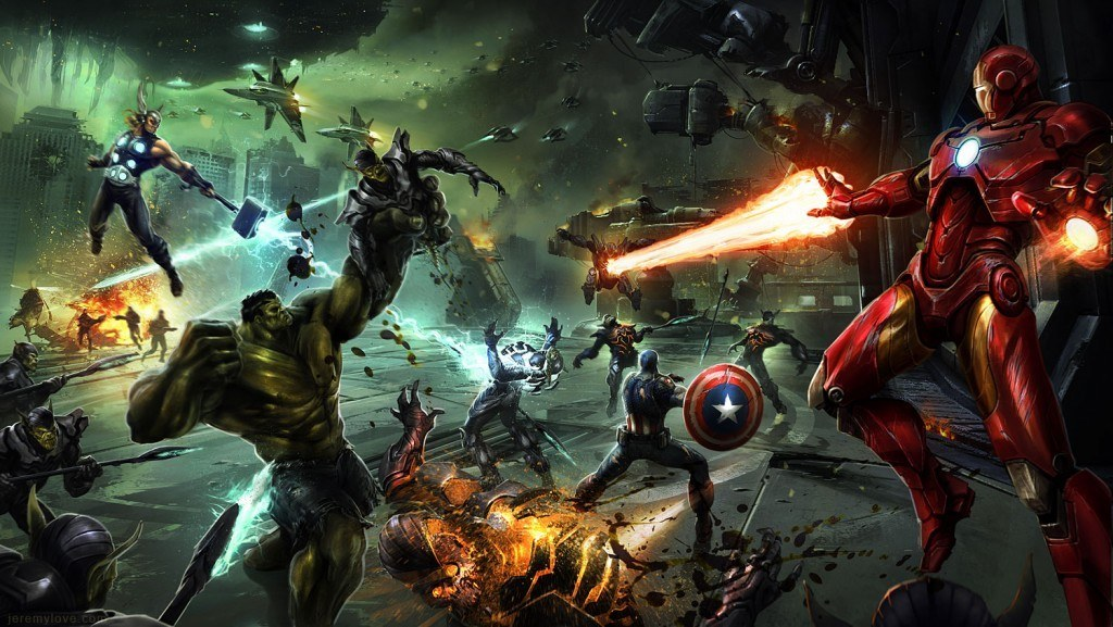 Details of THQ's Scrapped Avengers Game Surface