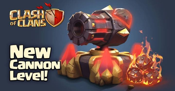 Clash of Clans Update to Bring Level 13 Cannons, Clan Levels