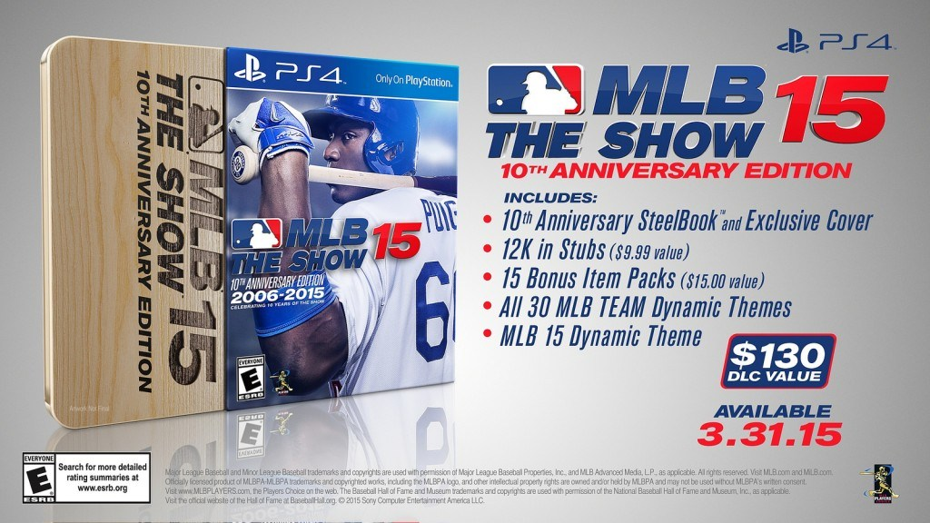MLB 15: The Show - 10th Anniversary Edition Has Great Value